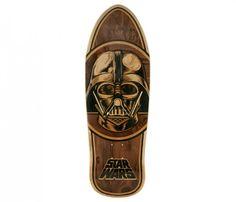 Darth Vader Inlay Cruiser Deck - Boutique Empire en ligne - Skateboards, Snowboards, Street Fashion