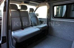 Double passenger seat swivel and driver side swivel to turn all the front seats! Kiravans