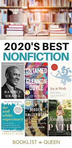 Curious about the best nonfiction books of 2020? Read stunning memoirs and learn more about racism, history, science, or self-improvement with these nonfiction bestsellers of 2020.