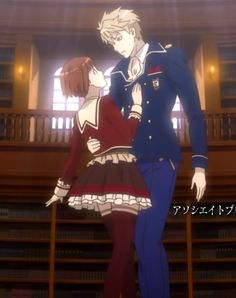 Dance with devils Anime Couples Drawings, Couple Drawings, Cute Anime Couples, Sarah Andersen, Cool Anime Guys, Anime Love, Dance With Devils, Cute Chibi Couple, Manga Mania