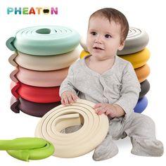 2 메터 어린이 보호 아기 안전 제품 유리 테이블 가장자리 가구 가드 스트립 공포 충돌 바 코너 거품 범퍼 충돌