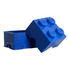 """For all your toys this Blue LEGO Storage Brick - 10"""" x 10"""" x 7"""""""
