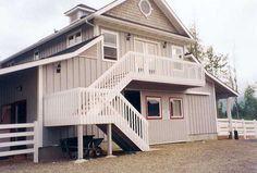 Barns with Apartment - Denali Gable Barn - Barn Pros | A girl can ...