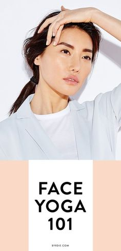 4 anti-aging facial exercises for firmer, tighter skin. #yoga