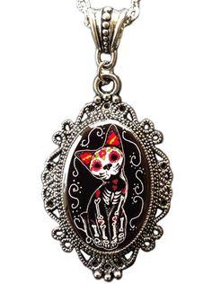 """""""Kiddy"""" Cameo by Alkemie & Artistry #inked #inkedshop #inkedmagazine #jewelry #necklace"""