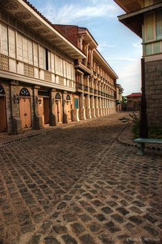 """Tucked in the peaceful town of Bagac, Bataan is a collection of Filipino century old houses known as """"bahay na bato"""". The Bahay Na Bato, a style . Filipino House, Filipino Art, Filipino Culture, Filipino Architecture, Philippine Architecture, Architecture Old, Philippines Culture, Manila Philippines, Philippines Travel"""