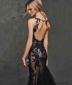 LASTA - Vestido de festa sexy preto