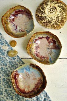 Lee Wolfe Pottery — handmade ceramic dinnerware River Journey rustic organic