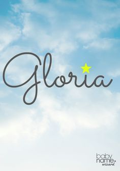 After WWI, Gloria soared. Its beautiful sound, coupled with angelic associations, kept it in the top 100s for nearly four decades. While it manages to be elegant and cute at the same time, Gloria isn't quite ready for its former (ahem) glory because it reminds us of our parent's generation instead of our grandparents.