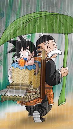 Papy et Goku ☺️☺️☺️