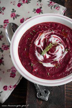 vellutata rapa rossa e patata. Soup (3)