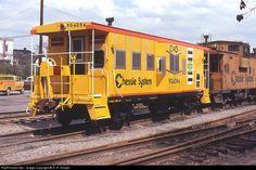 RailPictures.Net Photo: C&O 904094 Chessie System no loco. Caboose shot at Charlottesville, Virginia by G. R. Harper