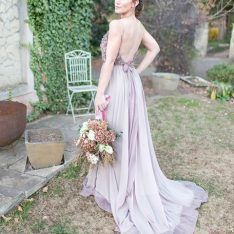Italian Countryside Wedding, Lavender Colours Wedding Lavender, Countryside Wedding, Lavender Color, Bridesmaid Dresses, Wedding Dresses, Colours, Weddings, Fashion, Lavender Colour