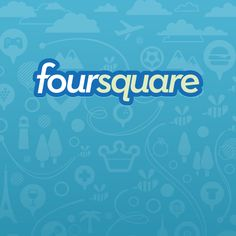 Foursquare. Splash Screen.