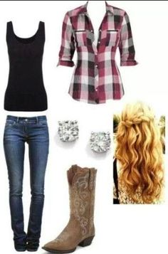 Country Outfit by lucia
