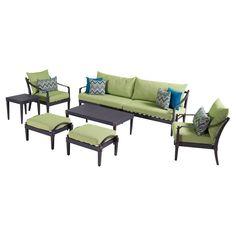 RST Brands Astoria 8-piece Sofa & Club Chair Set