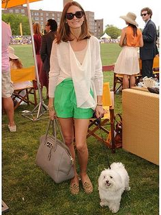 Olivia Palermo & MR Butler #Dog