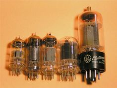 Vintage TV Radio Glass Vacuum Tubes Steampunk Crafts Altered Art Lot of Five 5 | eBay