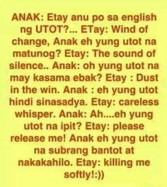Filipino humor - ang utot bow