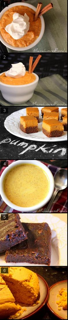 5 simple pumpkin recipes! {PERFECT FOR FALL}