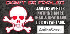 Aspartame Rebranded as a 'Natural Sweetener' – AminoSweet