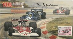 South African racing driver Ian Scheckter autographed envelope 1976 McLaren Cosworth M23  Limited edition No. 207 of 210  Price $50