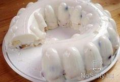 Joghurttorta sütés nélkül Hungarian Cake, Hungarian Recipes, Sweet Recipes, Cake Recipes, Torte Cake, Tasty, Yummy Food, Yogurt Recipes, Cookie Desserts