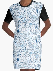 Chemistry Graphic T-Shirt Dress