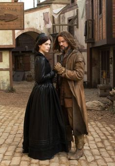 WGN Salem | as Mary Sibley and Shane West as John Alden, in WGN America's ''Salem ...