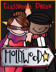 Hollywood theme classroom posters
