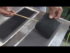 Raised Car Door-Panels in Leather - Auto Upholstery - YouTube