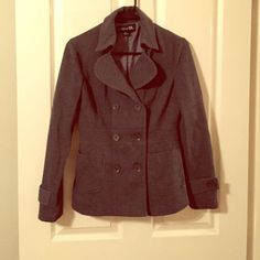 Sale Charcoal Gray Coat