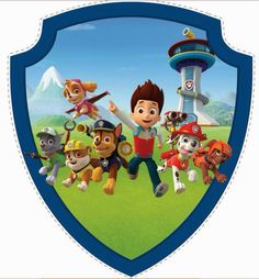 paw patrol pictures to print - - Yahoo Image Search Results Paw Patrol Badge, Paw Patrol Party, Paw Patrol Birthday, 4th Birthday Parties, 3rd Birthday, Paw Patrol Weihnachten, Escudo Paw Patrol, Imprimibles Paw Patrol, Paw Patrol Christmas