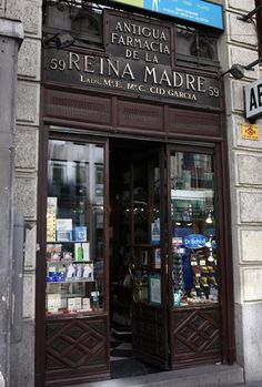 Madrid antiguo. Farmacia