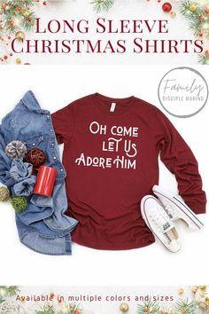 #christmasshirts #christianshirt #christianapparel #womensshirts #mensshirt #faith #christmasgifts