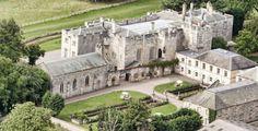 Hazelwood Castle, where my friends got married!