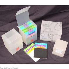 translucent packaging box
