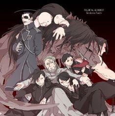 Fullmetal Alchemist: Envy, Father, Gluttony, Greed/Ling, Lust, Pride, Selim, and Wrath