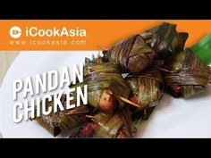 Pandan Chicken | Fried Chicken Wrapped with Screwpine Leaves - YouTube