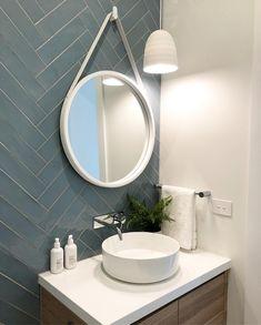 Fresh Bathroom & Modern Powder Room Reveal – Interior Design Ideas & Home Decorating Inspiration – moercar Bathroom Layout, Bathroom Interior Design, Modern Bathroom, Small Bathroom, Zen Bathroom, Gold Bathroom, Bathrooms, Powder Room Decor, Powder Room Design