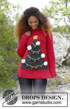 4926978be310a How To Be A Christmas Tree   DROPS 183-8 - Modèles tricot gratuits de DROPS  Design