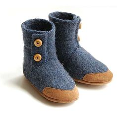 wool baby slippers
