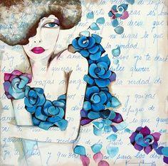 karina chavin - Buscar con Google Illustrations, Face Art, Painting Techniques, Doodle Art, Art Forms, Pop Art, Canvas Art, Drawings, Artwork