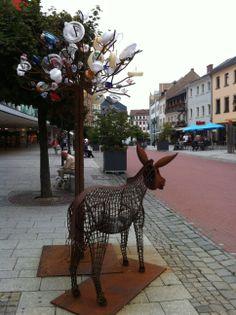 Hof Saale Germany Altstadt