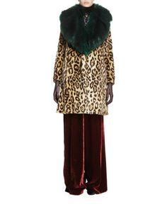 Coat,+Choker+&+Pants+by+Dries+van+Noten+at+Bergdorf+Goodman.