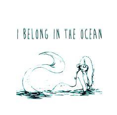 I belong to the ocean...