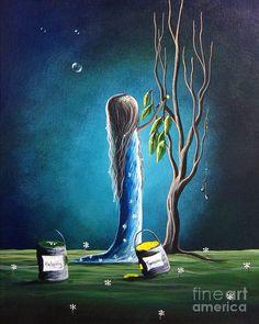 Helping Tomorrow By Shawna Erback Painting