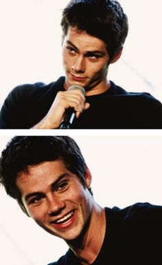 Dylan O'Brien at SDCC'13 THE MAZE RUNNER PANEL. Watch it on youtube its sooooo funny but major spoiler for y'all who haven't read it yet!