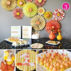"""Sunshine first birthday as featured on Hostess with the Mostess """"Party of 5""""! www.hwtm.com"""