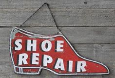 Add this tin sign to your collection! Would look great hanging in a laundry room or entry way. A gentle reminder of times past. Old Boots, Shabby Chic Wall Decor, Creative Co Op, Old Signs, Antique Farmhouse, Hand Painted Signs, Shop Signs, Vintage Signs, Decoration
